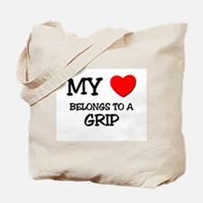 My Heart Belongs To A GRIP Tote Bag