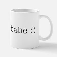 bloggin' babe Mug