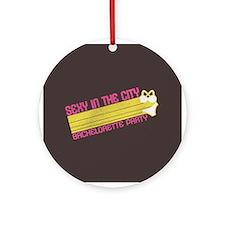 Sexy in the City Ornament (Round)
