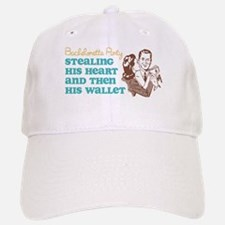 Stealing Heart and Wallet Baseball Baseball Cap