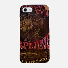 JA Steampunk Plane iPhone 7 Tough Case