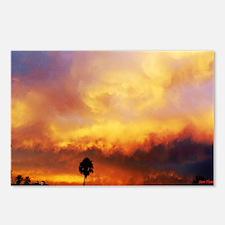 Burned Skies Postcards (Package of 8)