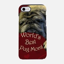 mothers_day_hearts_tall iPhone 7 Tough Case