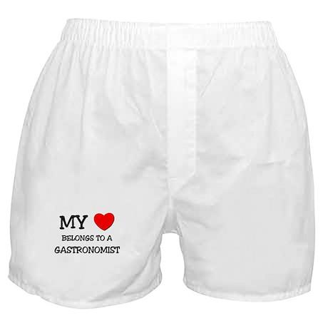 My Heart Belongs To A GASTRONOMIST Boxer Shorts