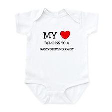 My Heart Belongs To A GASTROENTEROLOGIST Infant Bo