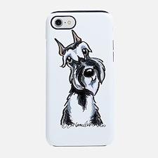 Cute Schnauzer iPhone 7 Tough Case