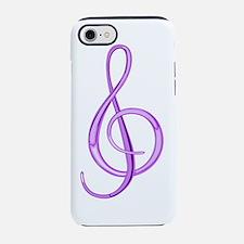 Cute Treble clef iPhone 7 Tough Case