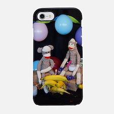 Unique Sock monkey iPhone 7 Tough Case