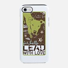 Cute Pit bull iPhone 7 Tough Case
