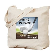 Golf Improving Tote Bag