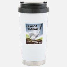 Golf Improving Stainless Steel Travel Mug