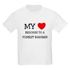 My Heart Belongs To A FOREST RANGER T-Shirt