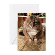 Milktini #2 Greeting Card