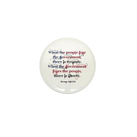 Tyranny/Liberty Mini Button