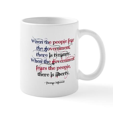 Tyranny/Liberty Mug