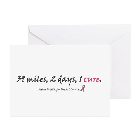 Avon Walk Greeting Cards (Pk of 10)