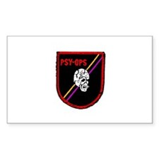 PSY-OPS PATCH Rectangle Decal