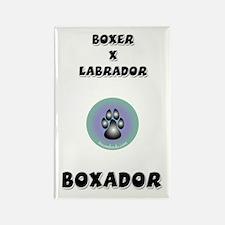 Boxador Rectangle Magnet