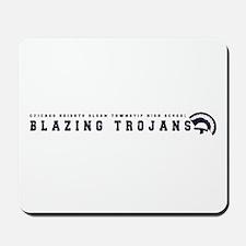 Blazing Trojans Mousepad