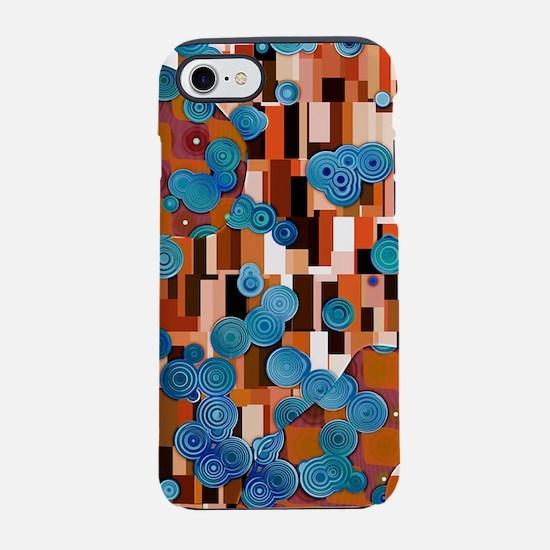 Klimtified! - Rust/Turquoise iPhone 7 Tough Case