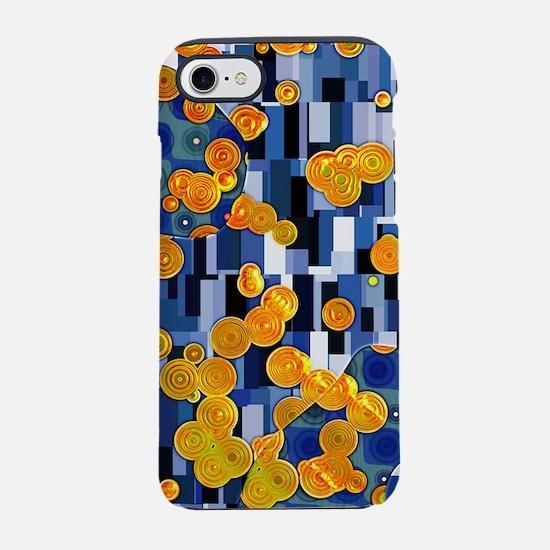 Klimtified! - Gold/Blue iPhone 7 Tough Case