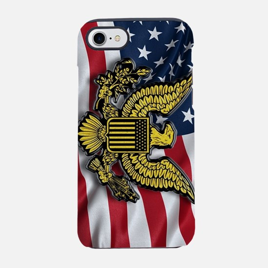 Great seal of the USA with Ame iPhone 7 Tough Case