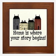 Home Story Framed Tile