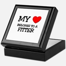 My Heart Belongs To A FITTER Keepsake Box