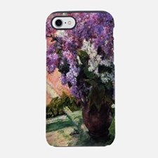 Lilacs in a Window by Mary Cas iPhone 7 Tough Case