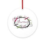 Wine Diva! Ornament (Round)