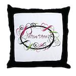 Wine Diva! Throw Pillow