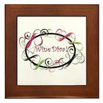 Wine Diva! Framed Tile