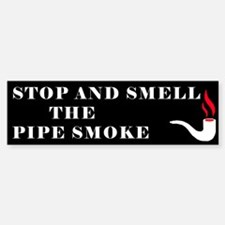 Pipe Smoking Bumper Bumper Bumper Sticker