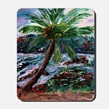 """Maui Palm"" Mousepad"