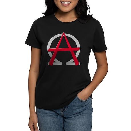 Christain Anarchy Women's Dark T-Shirt