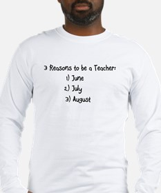3 reasons to be a Teacher: June July August Long S