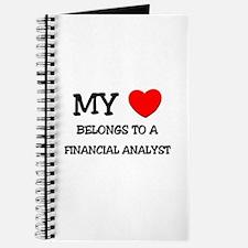 My Heart Belongs To A FINANCIAL ANALYST Journal