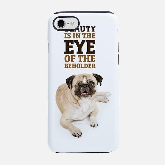 RD Pug Beauty Portrait.png iPhone 7 Tough Case