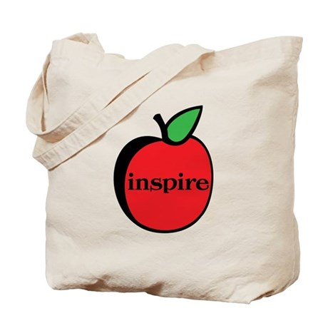 Teachers Inspire Tote Bag