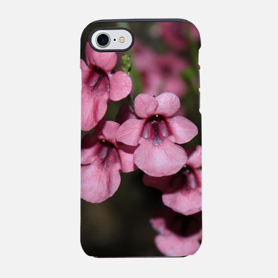 Pink Flowers iPhone 7 Tough Case