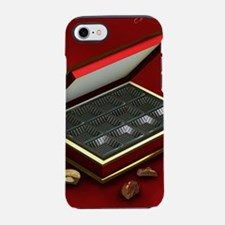 I eated it - red background iPhone 7 Tough Case