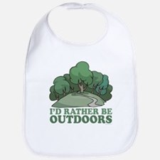 I'd Rather Be Outdoors Bib