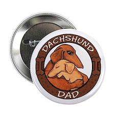 """Dachshund Dad 2.25"""" Button"""