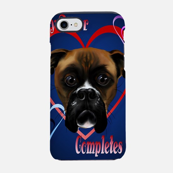 441_iphone_caseMy Boxer Dog Co iPhone 7 Tough Case
