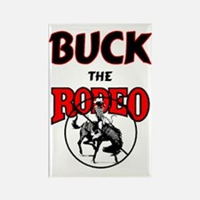 BUCK the Rodeo Magnet