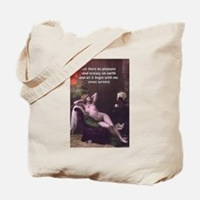 Porn Film Star Sprinkle Tote Bag
