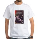 Porn Film Star Sprinkle White T-Shirt