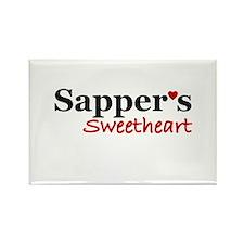 Sapper's Sweetheart Rectangle Magnet