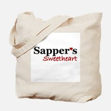 Sapper's Sweetheart Tote Bag