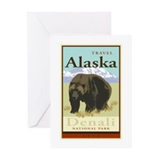 Travel Alaska Greeting Card